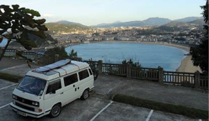 Book a campervan