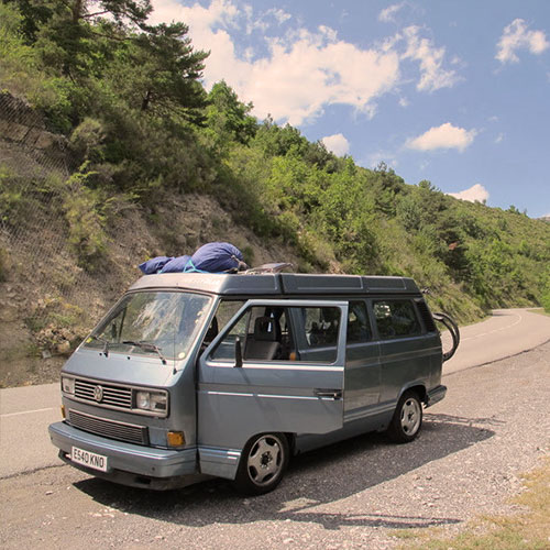 VW T25 WESTFALIA MULTIVAN 'LENNY' | London Campers - Campervan hire