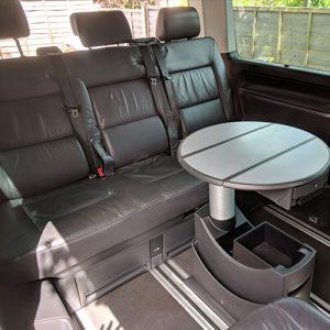 VW Campervan hire London Premium silver Carl seats